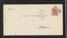 Lettera Brescia 1885 - 1878-00 Humbert I.