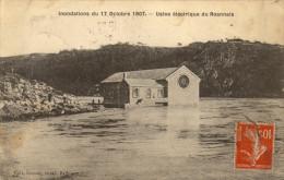 42 Roanne . Inondation Du 17 Octobre 1907. Usine Electrique - Roanne