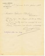 MAISON CAREL  FRERES à  SAINT - GERMAIN - EN - LAYE  1882 - Non Classés