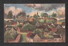 AK Daun Art Drawn Old Postcard UNUSED - Daun