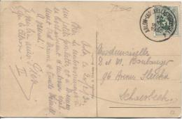 TP 283 S/CP D'Arlon C.Ambulant Arlon Bruxelles Brussel 4 20/2/1930 V.Schaerbeek PR606 - Ambulants