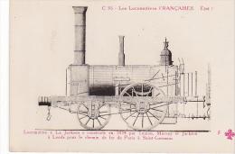 22999 Locomotives Francaises  Jackson Teuton Murray à Leeds Paris St Germain  -C36  Trefle Fleury FF Cccc - Matériel