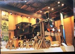 Tsukuba - Steam Locomotive -  Japan International Exhibition -  EXPO 1985 - Trains
