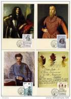 SWEDEN 1995 Set Of 4  MAXIMUM CARD  Stockholmia '84  Scott 1502-5   MI 1288-91 - FDC