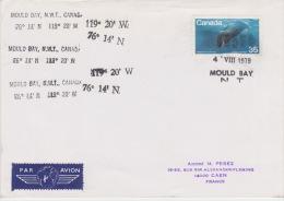 PLIS ARCTIQUE CANADA   MOULD BAY 4-8-1979 - Non Classés