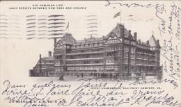 UNITED STATES ETATS UNIS  HAMPTON VA Old Point Comfort  Hotel Chamberlin - Hampton