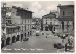 Grosseto - Piazza Dante E Corso Carducci - H1696 - Grosseto
