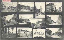 39 - Souvenir De CHAUSSIN - Jura - Multivues - Frankrijk