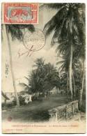 CONGO FRANCAIS CARTE POSTALE DEPART SEMIO 7 MARS 13 OUBANGUI CHARI TCHAD ARRIVEE HYERES 10-3-13 VAR - Covers & Documents