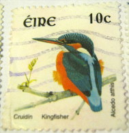 Ireland 2002 Bird Kingfisher 10c - Used - 1949-... Repubblica D'Irlanda