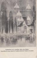 Laeken     Exposition Du Coprs Dans La Chapelle Ardente De L'Eglise De Laeken            Scan 6565 - Laeken