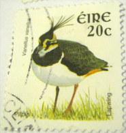 Ireland 2002 Bird Lapwing 20c - Used - 1949-... Repubblica D'Irlanda