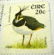 Ireland 2002 Bird Lapwing 20c - Used - 1949-... République D'Irlande