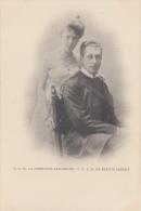 S.A.R. Monseigneur Le Prince Albert De Belgique Et La Princesse Elisabeth               Scan 6575 - Hombres Políticos Y Militares