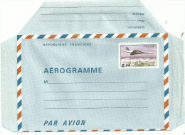 AEROGRAMME N° 1007 Neuf   2.fr35 Polychrome  Et Noir ......à Voir.. - Aérogrammes