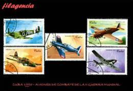 USADOS. CUBA. 1995-10 AVIONES DE COMBATE DE LA II GUERRA MUNDIAL - Cuba