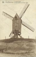 Silly-Mauvinage - Le Vieux Moulin, Le Plus Ancien De L´Europe - 1935 ( Voir Verso ) - Silly