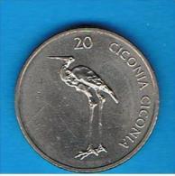 ESLOVENIA -  20 Tolar 2003 - Eslovenia