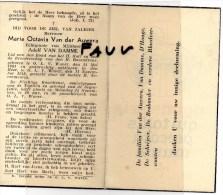 Van Der Auwera Maria Octavia Echtg Van Damme Adolf °OLV Waver 1881 - 1948 - Overlijden