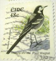 Ireland 2003 Bird Pied Wagtail 48c - Used - 1949-... Repubblica D'Irlanda