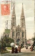 AUSTRIA  - WIEN - Votivkirche - 2 Scans  (VINTAGE POSTCARD) - Églises
