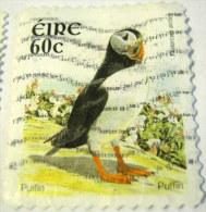 Ireland 2004 Bird Puffin 60c - Used - 1949-... Repubblica D'Irlanda