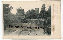 - BLAMONT - ( M.-et-M. ), La Tranchée Du Chemin De Fer, Train, Ruines,  Non écrite, Splendide, TBE, Scans. - Blamont