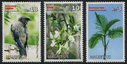 Mauritius (2013) - Set -  /  Palm - Blumen - Flowers - Fleurs - Birds - Fiori - Orchidees - Orchids - Oiseaux - Orquideas