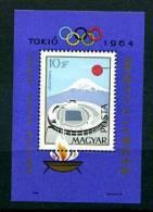 HONGRIE Bloc Feuillet Jeux De Sapporo  Michel Bloc No 43 - Winter 1972: Sapporo
