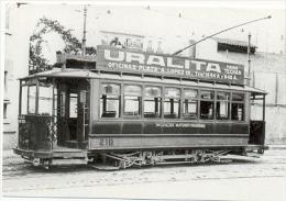 7f-717. Postal. Colección Viejas Glorias. Tranvías De Barcelona. Coche Serie 200 - Strassenbahnen