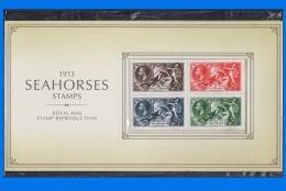 "GB 2013-0051, ""1913 Seahorses Stamp"" Facsimile Pack - Presentation Packs"