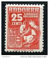 ANDORRA 1953  Urgente  Mi Nr 51 *