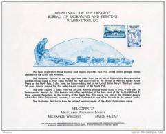 USPS Official 1977 MILCOPEX Milwaukee Philatelic Society  Stamp Exhibition  Souvenir Card- - Esposizioni Filateliche