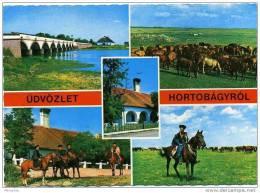 HORTOBAGYROL - HORTOBAGY Horses And Horsemen Circulated C1973 - Hungary