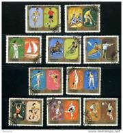 SHARJAH  Jeux De Munich Série Complète Oblit. - Summer 1972: Munich