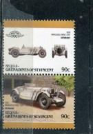 BEQUIA. 1986. SCOTT 111. CAR TYPE OF 1983. 1928 MERCEDES BENZ SSK, GERMANY - St.Vincent & Grenadines