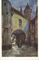 (DD899) Very Old Postcard With Stamp - Belgium - Bruges Butter Market - Halles