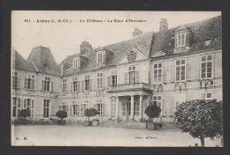 DF / 41 LOIR ET CHER  / AVARAY / LE CHÂTEAU / LA COUR D' HONNEUR / CIRCULÉE EN 1931 - Other Municipalities