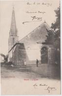 THORE LA ROCHETTE L'EGLISE ANIMEE 1917 TBE - Altri Comuni