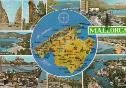 España--Mallorca--1979--Varias Vistas---a Holanda - Mapas