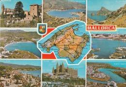 España--Mallorca--1968--Varias Vistas--a. Alemania - Mapas