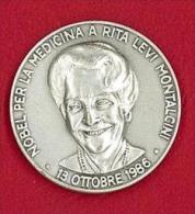 CDM - RITA LEVI MONTALCINI NOBEL MEDICINA - AG 925 - ANNO 1986 - RICERCA SCIENTIFICA - CLUB DELLA MEDAGLIA - Unclassified