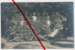 PostCard - Original Foto - Ca. 1915 - Lazarett Beckum - Foto: Bernhard Lütke, Beckum - Beckum