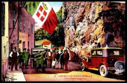 - GRIMALDI - VENTIMIGLIA -   Frontière Italienne: Douanes  Italiennes (6) - NON Circulé - Not Circulated. - Imperia