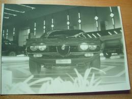 Annee 70 Expo Bruxelles Alfa Romeo Foto 17,5 X12,5 Motreal - Automobili