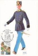 D15846 CARTE MAXIMUM CARD 1996 ITALY - GUARDIA DI FINANZA CP ORIGINAL - Police - Gendarmerie