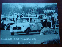 Slalom De L´ouest 1972  MINI  Foto 12,5 X 17,5 - Automobili