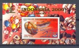 Mgm1772 MINERALEN GEMSTONES  MINERALIEN UND GESTEINE MINÉRAUX INDONESIË INDONESIA 1997 PF/MNH - Mineralen