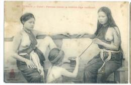 Indochine Indochina Vietnam Viet Nam Vintage Postcard - Topless / Nude - Vietnam
