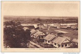 Indochine Indochina Vietnam Viet Nam Vintage Postcard : Cochinchine / Saigon - Vietnam